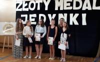 Złoty Medal Jedynki 2017r.