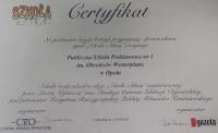 Certyfikaty, dyplomy szkolne