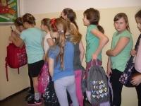 ważymy plecaki, projekt ,,Młodzi od wagi