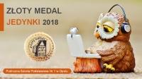 Złoty Medal Jedynki 2018